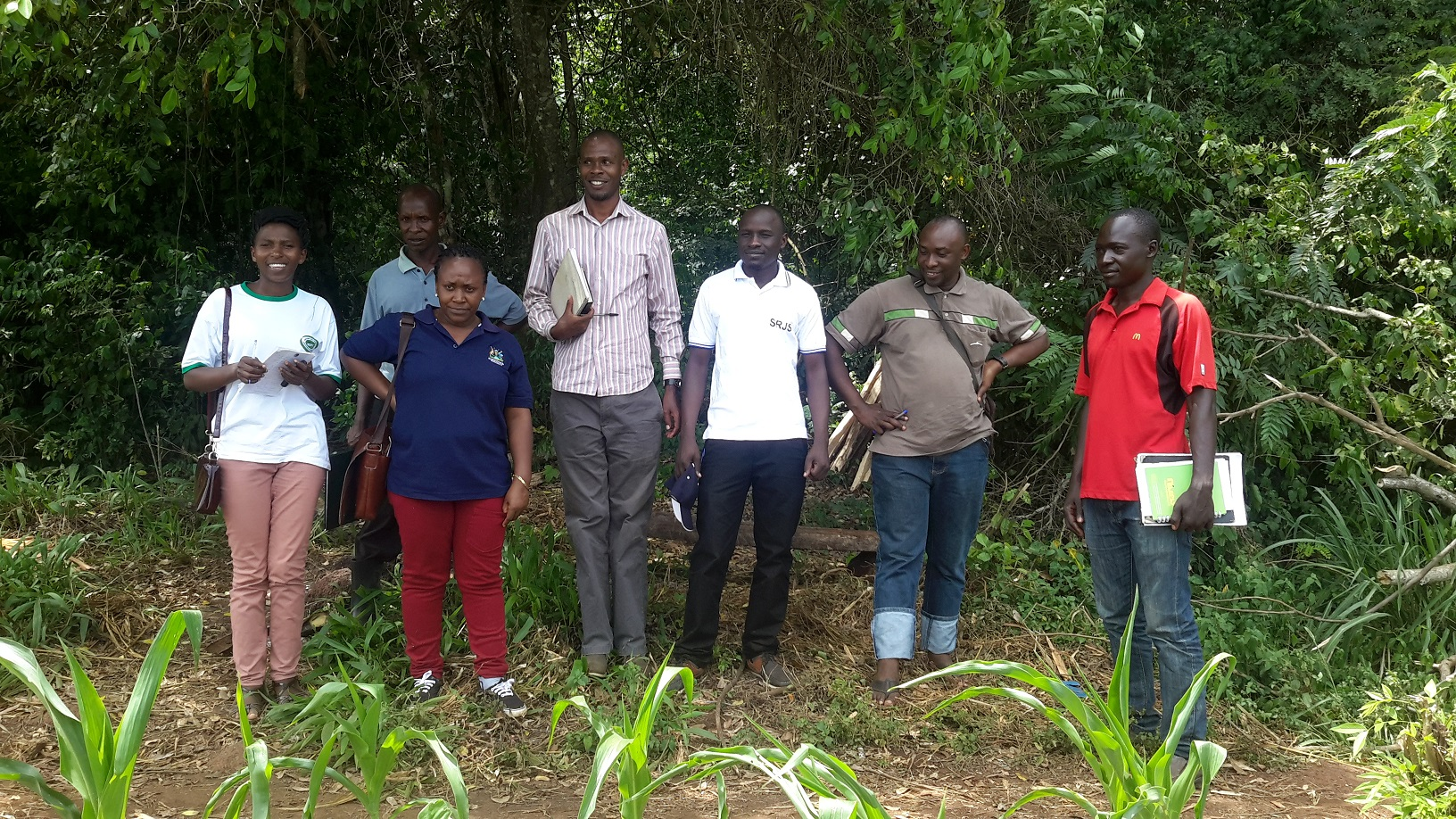 Shared Resources Joint Socultions Programm at Ongo Forest in Hoima
