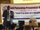 Lead Campaign against lead poisoning 2015